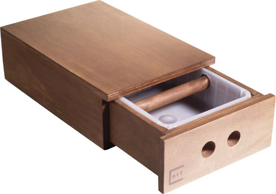 Concept Art Wood Knock Out Drawer