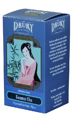 Drury Pyramid Genmai Cha Tea Bag