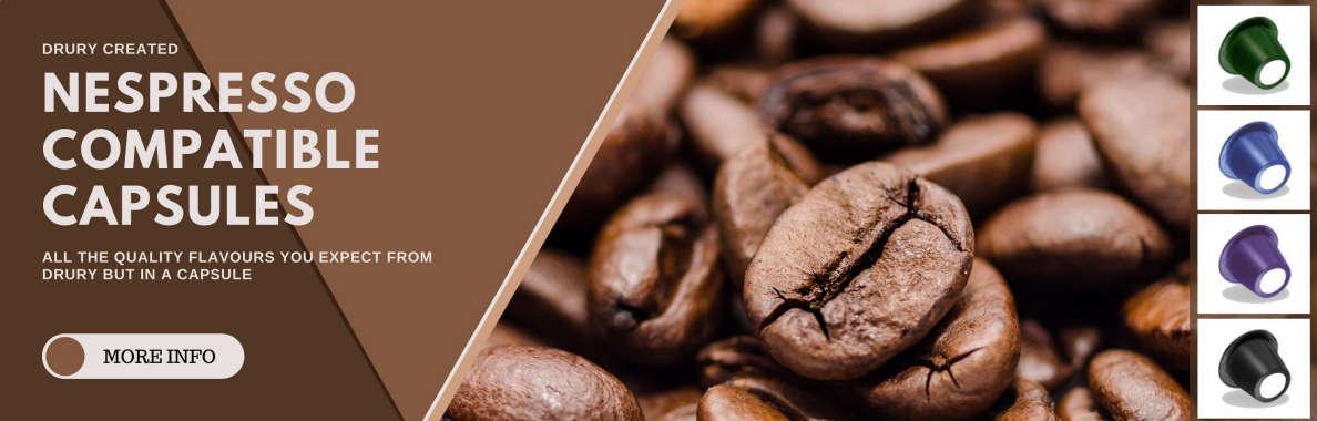 Nespresso compatible capsules Banner