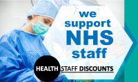 We Support the NHS Logo