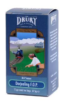 Darjeeling Mid Season's Tippy Golden F.O.P. Pyramid Tea Bags